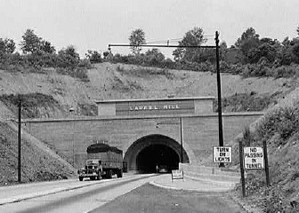 Laurel Hill Tunnel in the 1940's