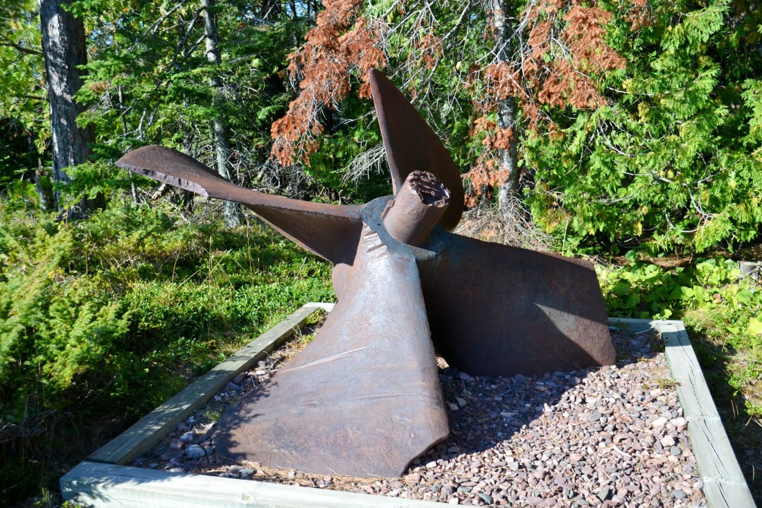 Propeller from the Scotia