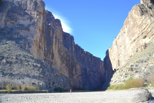 Santa Elena Canyon at Big Bend National Park