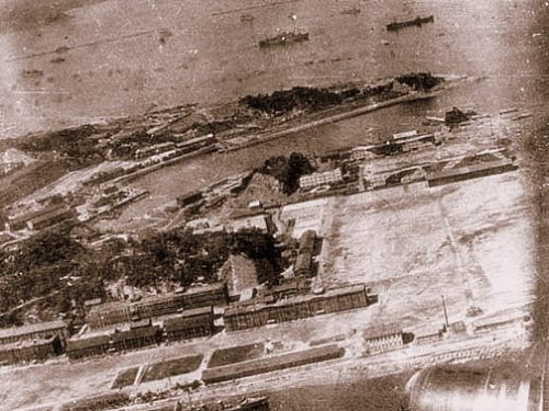 Yokohama naval base