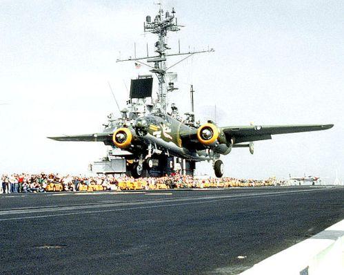 B-25 re-enactment