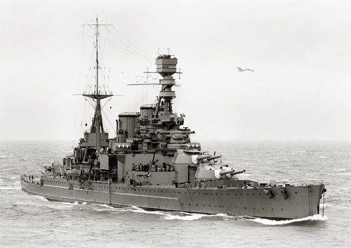 The HMS Repulse