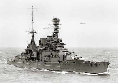 The HMS Repulse