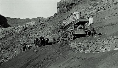 Wagons on Lee's Backbone