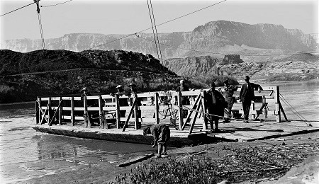 Leer's Ferry in its heyday