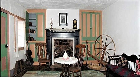 The parlor at Winsor Castle